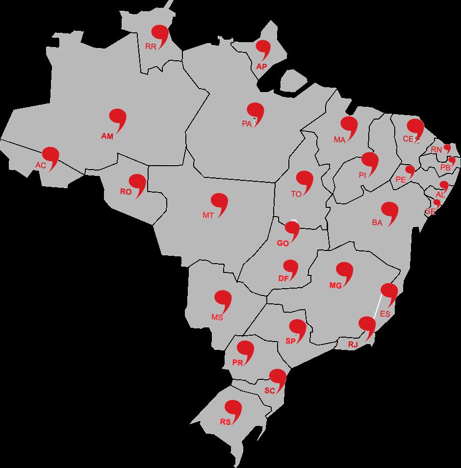 Mais de 700 mil alunos em todo Brasil