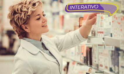 Atendente de farmácia e drogaria – Interativo
