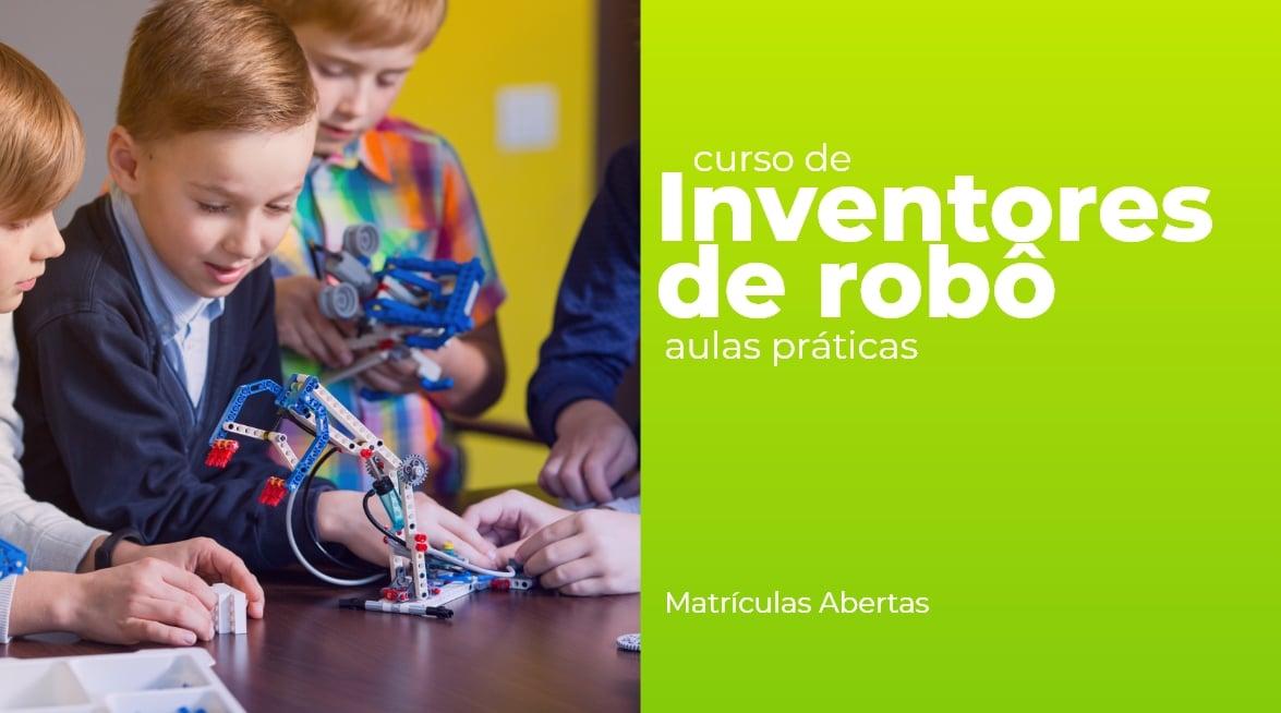 Inventores de robôs