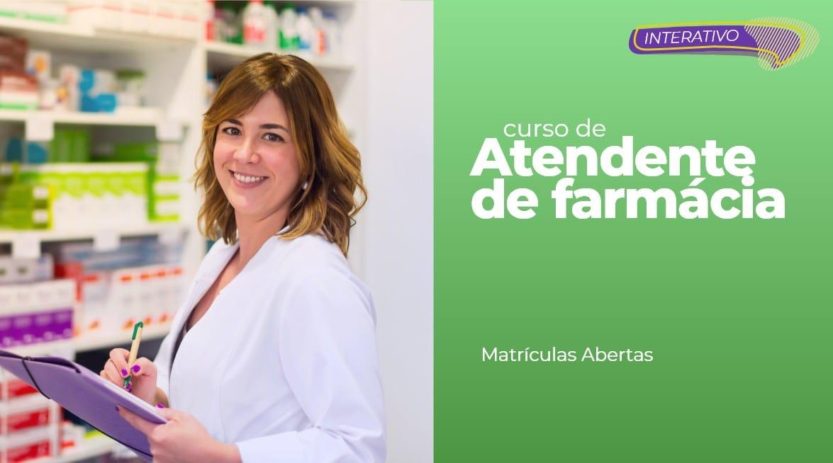 ATENDENTE DE FARMÁCIA E DROGARIA