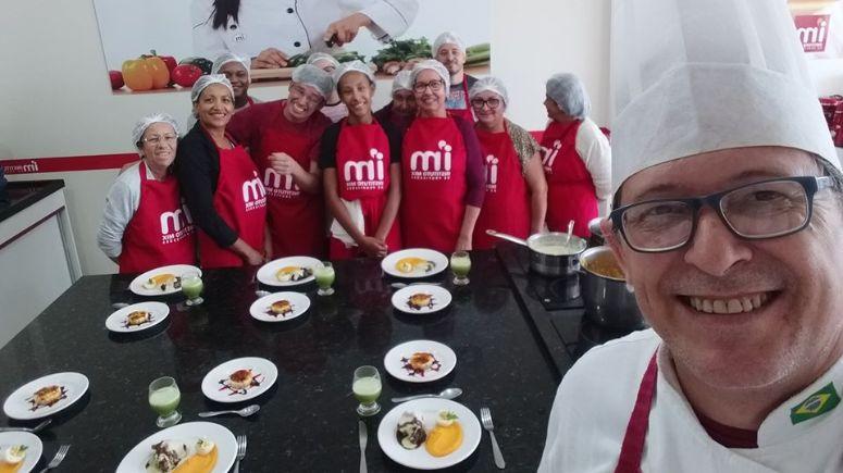 Gastronomia: Instrutores do IM concorrem a prêmio nacional