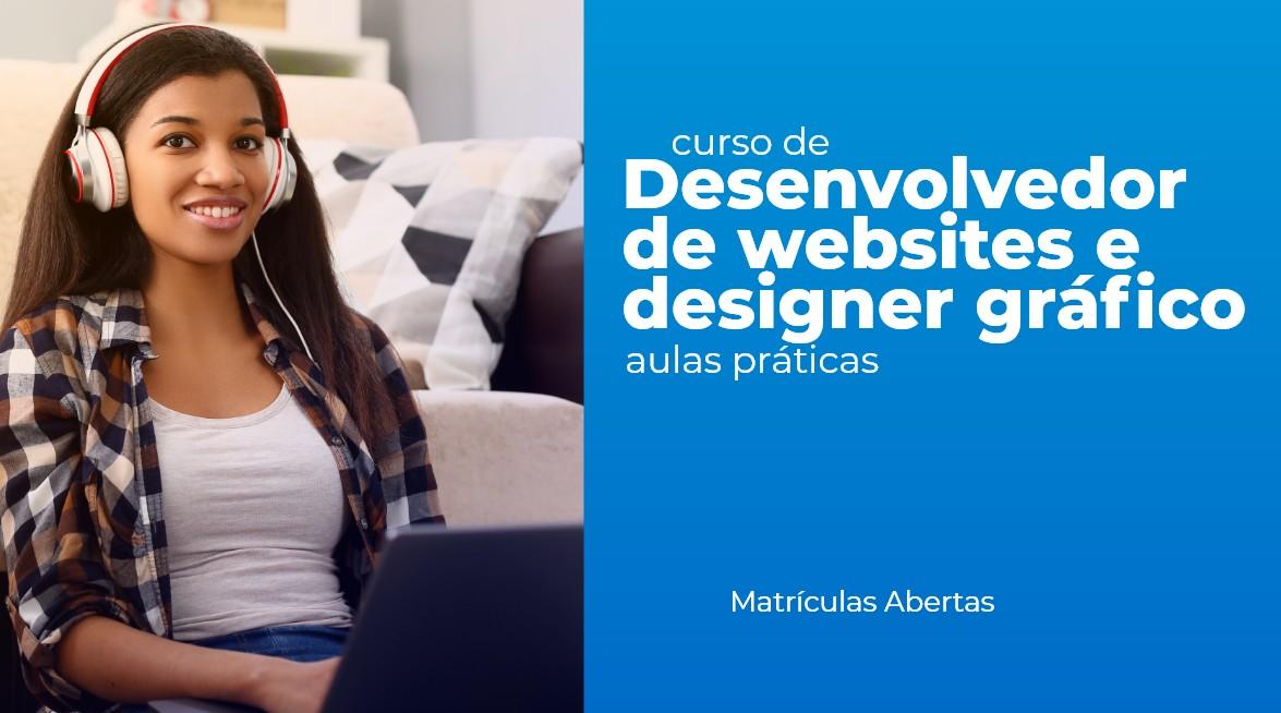 Desenvolvedor de websites e designer gráfico