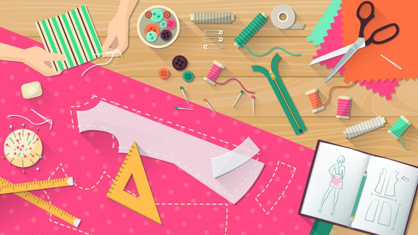 Curso corte e costura: como funciona o processo de modelagem de roupa?