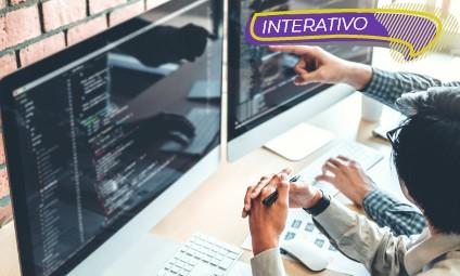 Desenvolvedor de websites e designer gráfico – Interativo