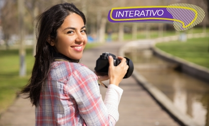 Fotografia digital – Interativo